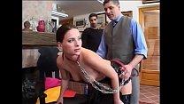 Sklavin den Kollegen zum benutzen vorgestellt - Slave - Sub Thumbnail