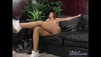 Brunette amateur public babe fucked in the back of cab