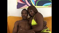 Ebony fat ass chick riding big cock
