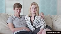 Blond Wife Adry Berty Fucks a Stud in Front of ... Thumbnail
