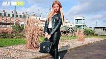 AMATEUR EURO - Hot French Newbie Angelica V. Fi...