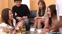 Creaming Asian sluts as the party gets heated up Thumbnail