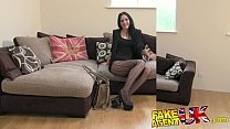 FakeAgentUK Sexy stocking clad Liverpool girl s...