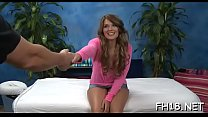 Sexual breasty legal age teenager hottie is banged so well from the behind
