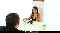 TeenPies - Mexican Cutie Wants Creampie For Des... Thumbnail