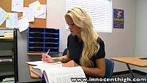 InnocentHigh Halloween Special: Sexy blonde Jes...