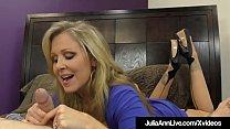 FemDom Mistress Ms. Julia Ann Won't Allow Her H...