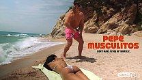 PORNDOE PEDIA - Portuguese babe Noe Milk in beach seduction and sex tutorial