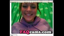 Amateur Radhead Teen with Big Natural Tits on W...