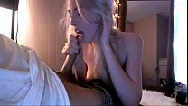 sexy blond from sexsil.com swallow