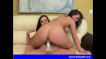Lesbians like the strap-on Thumbnail