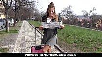 BITCHES ABROAD – Tourist babe Silvia Dellai dri...