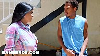 BANGBROS - Romi Rains in a Big Black Dick on Mo... Thumbnail