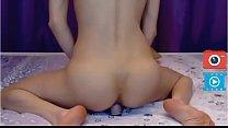 webcam girl cum on cam sexy ass dildo