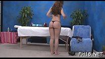 Cute office legal age teenager fucked hard by her masseur