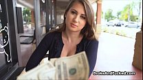 Banging broke bigtit teen for cash
