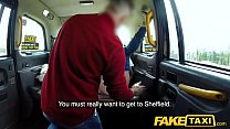 Fake Taxi Hot tattooed blonde cums in cab after...