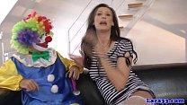 British stockings milf cockriding clown