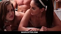 Shoplyfter - Mom and Daughter Caught and Fucked... Thumbnail