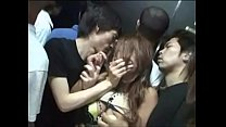 Asian porn in the elevator