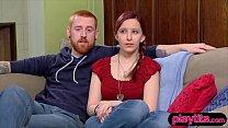 Nervous amateur couple goes to a swinger party ...