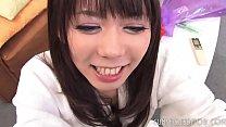 Cute Asian Slut Taking Double Facial POV