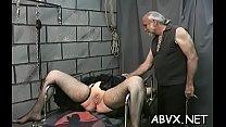 Older spanked on livecam Thumbnail