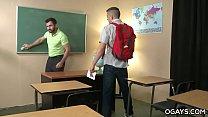 Hairy Teacher Fucks His Gay Student Thumbnail