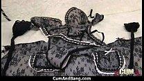 horny ebony bukkake gangbang 26