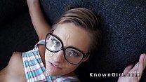 Pretty teen girlfriend banging POV on homemade Thumbnail