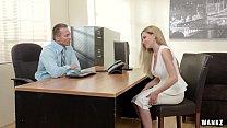 Russian Blonde Subil Seduces Her Boss! Thumbnail