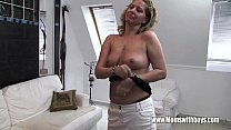 Horny Mature Stepmom Fucks Son Caught Masturbating Thumbnail