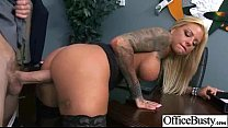 Hardcore Sex Tape In Office With Big Melon Tits...
