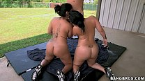 2 Big Asses in Colombia
