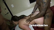 damm white girl PAWG fucked by romemajor and do...