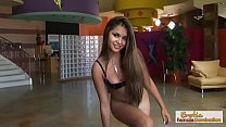 Latina babe enjoys her partner's dick with a gr...