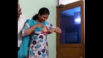 Indian sister giving joy to his friend Thumbnail