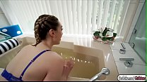 Sexy babe Lilly Lebeau fucked by boyfriend in the bathroom Thumbnail