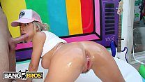 BANGBROS - PAWG Nicole Aniston Gets Her Big Ass Licked And Fucked By Mike Adriano Thumbnail