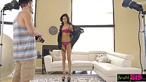 BrattySis - Modeling Shoot With Hot Sis Goes Ha...
