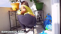 BANGBROS - Latina maid Mariah cleans more than ...