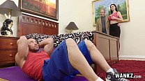 Horny Wife Cheats On Hubby With Stepson!