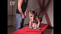 Young Odrina gets caned