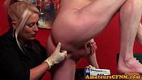 CFNM femdom doctor wanking patients cock Thumbnail