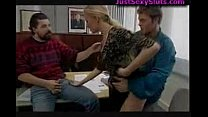 German Threesome in Office Thumbnail