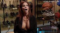 Big tits brutal anal orgasm