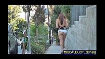 Elizabeth D. - Nude In Public Flashing Hottie pt1