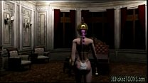 3d warrier babe gets fucked in the castle on 3dnakedtoons.com