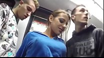 Download video bokep Amateurs  Public Train Underground 3gp terbaru