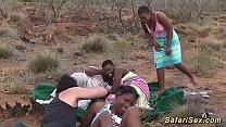 real african safari sex orgy